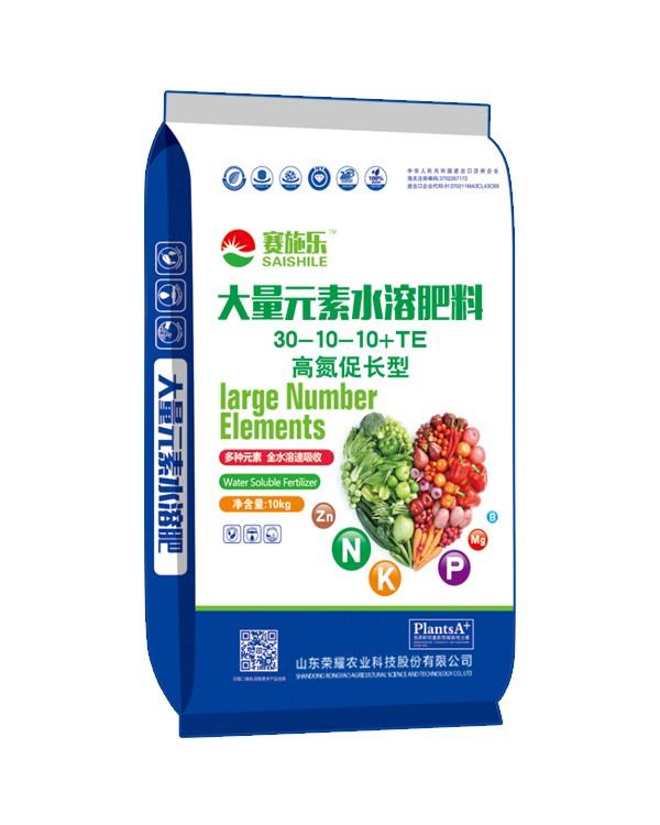 30-10-10+TE高氮促长型